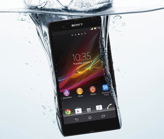 Xperia Z Water Resistant
